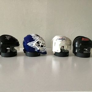 4 McDonalds NHL Star Helmets